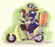 Autobai Delivery! by eurogabby