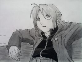 Edward Elric by Nurfidan