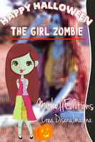 The Girl Zombie by MichellEditions