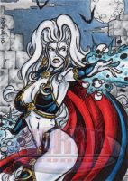 Lady Death Sample 1 by tonyperna