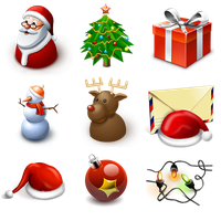 Standard New Year Icons by FreeIconsFinder
