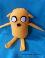 Jake Plushie by fromzombieswithlove