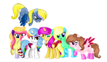 Mlp- My mane six ^_^ by BloodLover2222