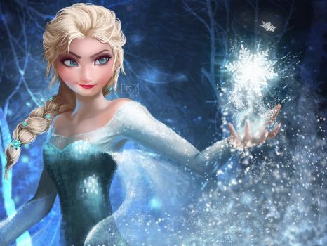 Elsa the Snow Queen by typeATS