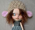 Annie (Customized Blythe doll) by Katalin89