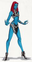Mystique by sekhmet67