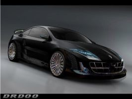 Renault Laguna Coupe concept by drdoo27