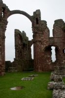 Lindisfarne Priory 2 by RaeyenIrael-Stock