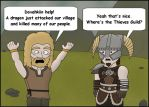 Skyrim:  Please Help by T-3000