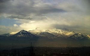 Erciyes Mountain by erce