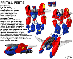 Primal Prime: TFA style by MagusTheLofty