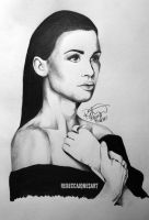 Holland Roden (Lydia Martin) by RebeccaJonesArt