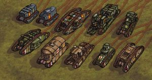 Shadowless Tanks Pt.2.1 by wingsofwrath