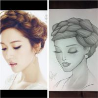 Jessica Jung comparison by emceelokey