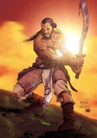 Frittigern colored by Robertoagm by AndronicusVII