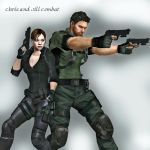 New Outfits for Chris and Jill by toughraid3r37890
