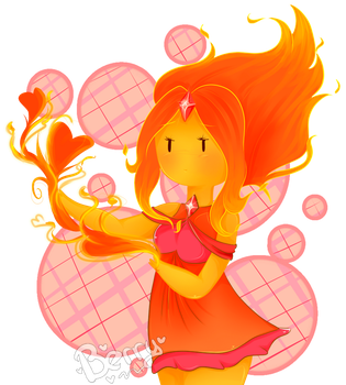 flame princess by Berry-Angel