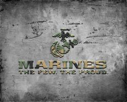 Marine Tribute by cotrackguy