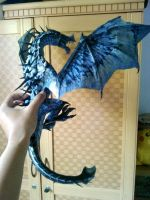 work in progress : skyrim frost dragon by nandablank