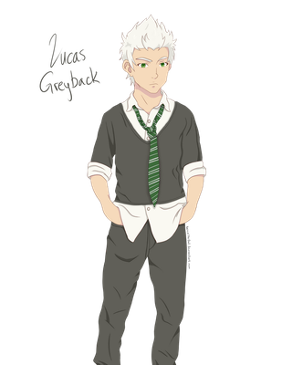 HP: Lucas Greyback by NoccieTheOwl