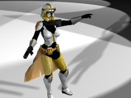 commander clone girl by lubre53