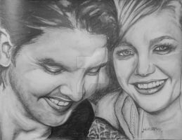 andrew and hannah by h1artyness