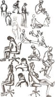Figure Drawing Collection 1 by KianaMari
