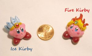 Kirby abilities: Fire and Ice by Blackash