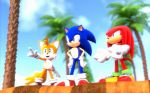 Team Sonic Scene (Upgraded) by FinnAkira