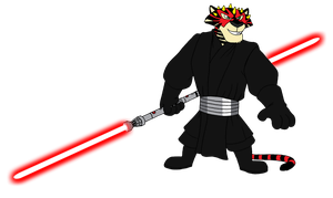 Vitaly as Darth Maul by BennytheBeast