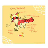 Cat Shrimp by Magicpawed