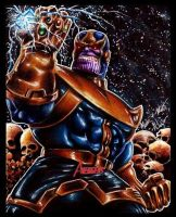 Thanos by Twynsunz