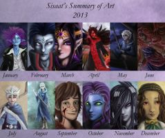 Summary Of Art 2013 by sisaat