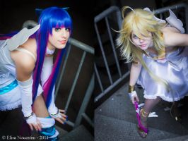 Panty and Stocking by oShadowButterflyo