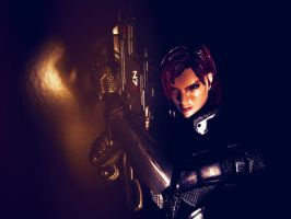 Femshep poses 5.1 - photoedited by PlayArtsKai