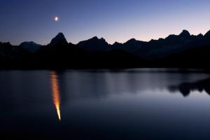 Moon Reflection by RobertoBertero