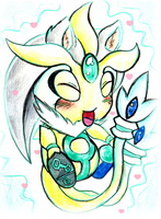 Silver the Uxie by no1shadow