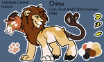 TailHead-Central Mascot: Chimx by MystikMeep