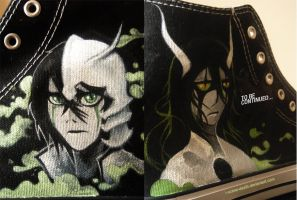 Ulquiorra shoes Pt 3 by i-scene-death