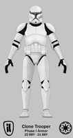 Clone Trooper - Phase I by TheMatsuyama