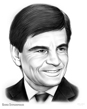 George Stephanopoulos by gregchapin
