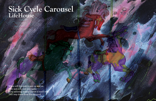 Sick Cycle Carousel Poster by DrTran08
