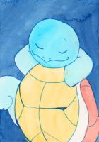 Little Squirtle Doodle by Enuwey