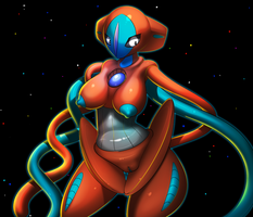 Deoxys by elPatrixF