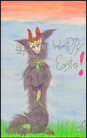 New Easterbunny? Easter-AT by RedWolfAkasora