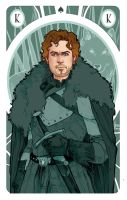 Game of Thrones' cards | King Robb Stark by SimonaBonafiniDA