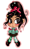Vanellope by Mesmeromania