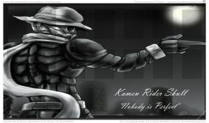 Kamen Rider Skull Playmat by Chief-Mercado