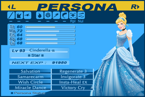 Disney Personae - Cinderella Alpha - Star by SantosPhillipCarlo
