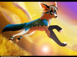art trade-amazing evening by Silverbloodwolf98
